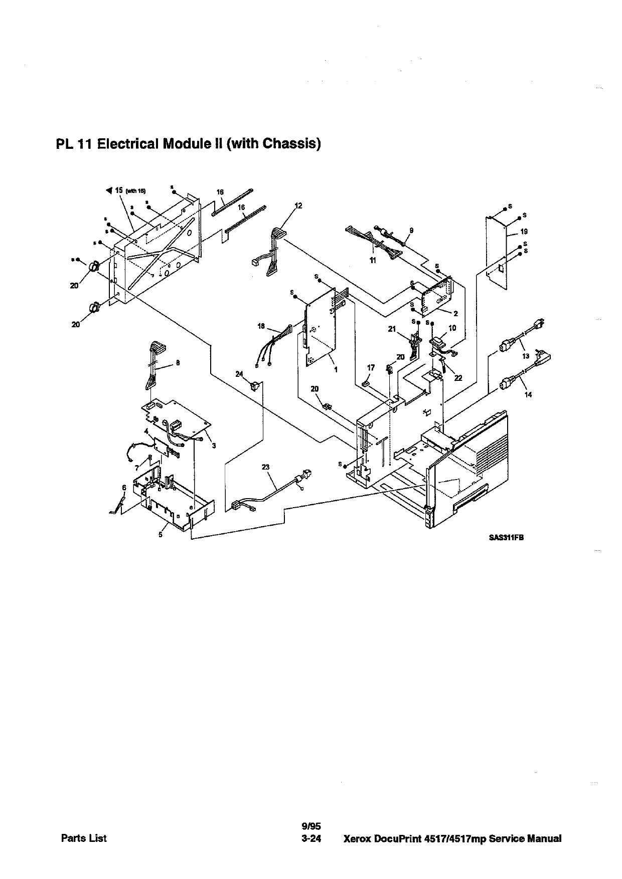 Xerox DocuPrint 4517 4517mp Service Manual